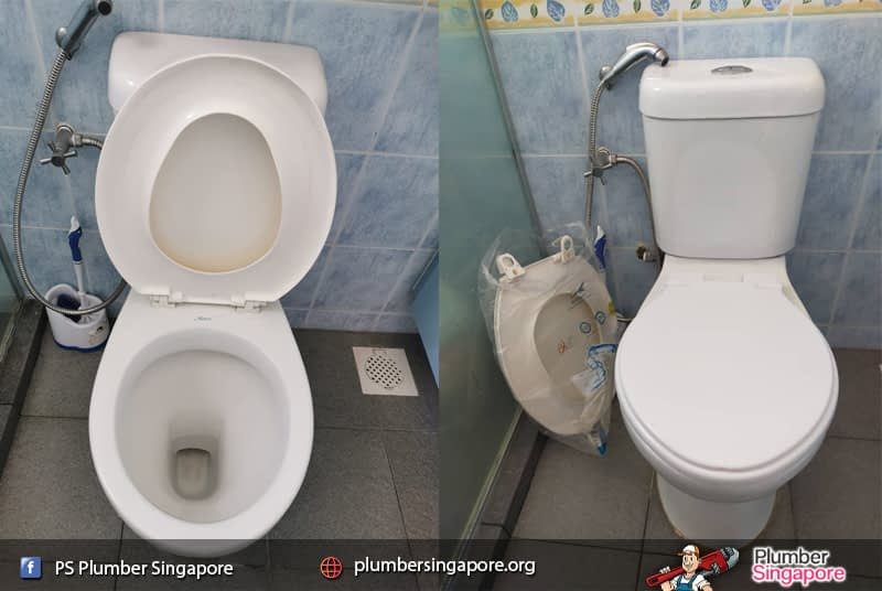 Supply and install toilet seat cover in Sengkang   💪PS Plumber Singapore