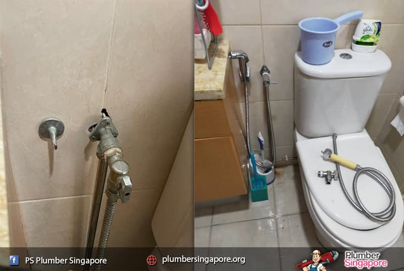 Supply and install bidet spray in Balestier Road  ✅PS Plumber Singapore