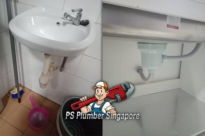 Install Basin Water Tap In Jurong